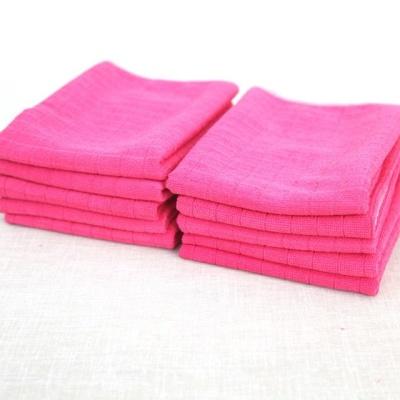 매직크린 바둑걸레 행주 핑크 10P