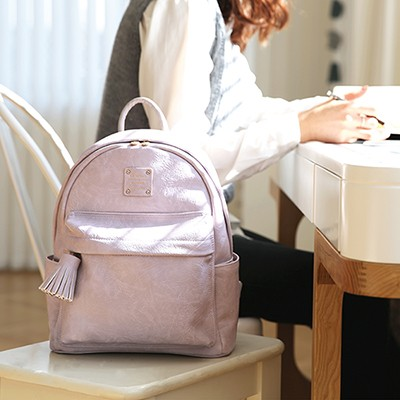 NUEVO MINI OFFICE LEATHER BACKPACK 미니 레더 백팩