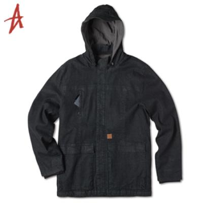 [Altamont] YIELD JACKET (Black Raw)