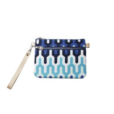 컬러리빙 사각클러치백S 모노 블루