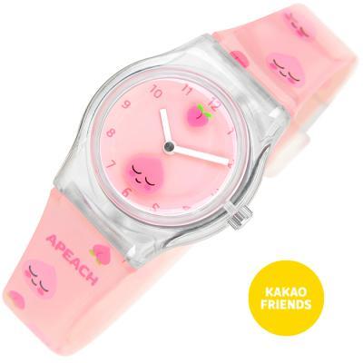 [카카오프렌즈] 어피치 젤리 손목시계
