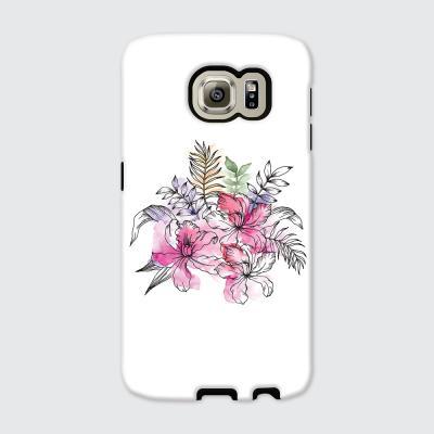 [듀얼케이스] Exotic Flower-C (갤럭시S6)