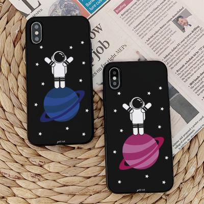 아이폰7플러스 골드리치 우주 카드케이스