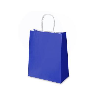 블루 쇼핑백 소
