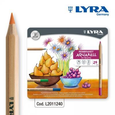 LYRA-리라 램브란트-아쿠아렐 수채색연필 24색컬러링