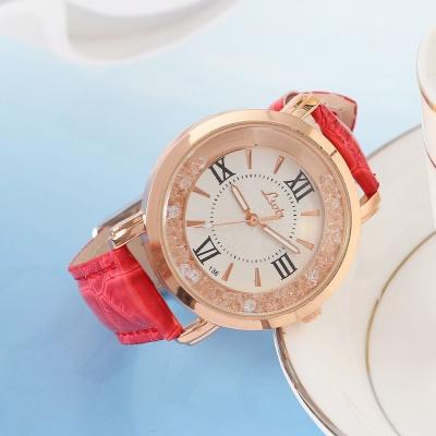 넬슈 여성 손목시계(레드)