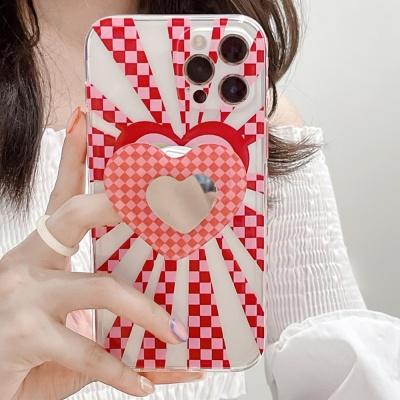 아이폰 x max se2 7 8 미러 그립톡 세트 젤리 케이스