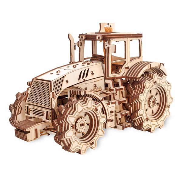 EWA 에코우드아트 3D DIY 입체 나무퍼즐 트랙터