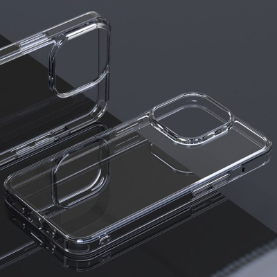 아이폰 13 시리즈 쿼츠 하이브리드 강화유리 케이스
