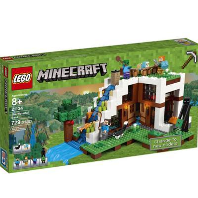LEGO / 레고 마인크래프트 21134 폭포 기지