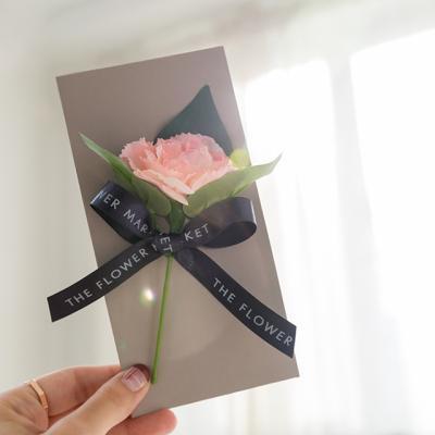 시그니쳐 카네이션 감사봉투 카드세트 [5color]