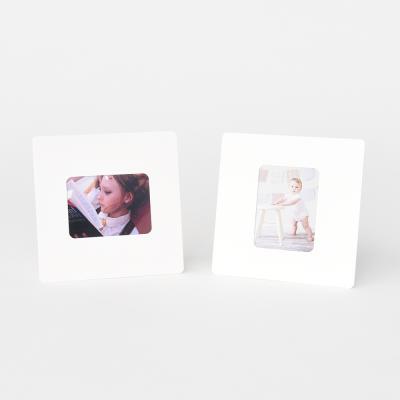스탠딩 페이퍼프레임 - 미니 화이트 5매 (종이액자)
