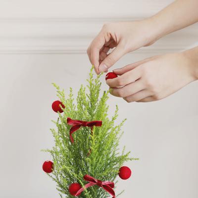 크리스마스 양모 볼 7p세트 4colors