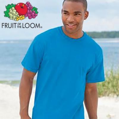 프룻오브더룸 남녀공용 무지 반팔 티셔츠 3color