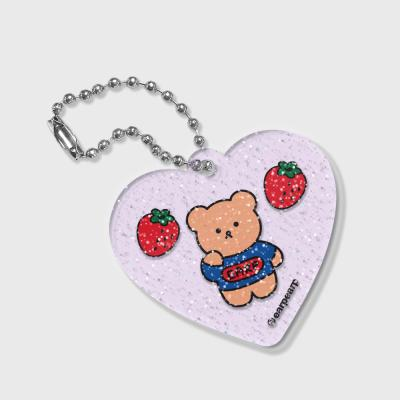 strawberry bear(글리터키링-퍼플)