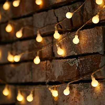 LED 인테리어 전구 4종(건전지형 앵두전구/눈꽃전구)