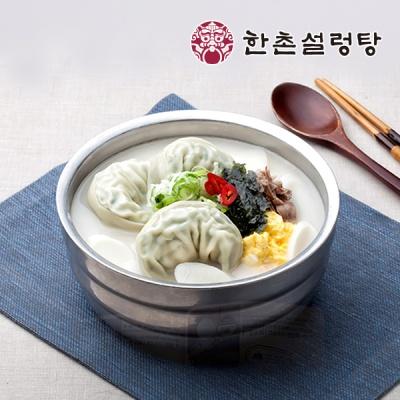 [한촌설렁탕][만두국] 사골곰탕 3봉 + 수만두 1봉