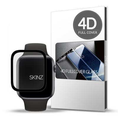 스킨즈 애플워치4 4D 풀커버 액정필름 44mm (1장)