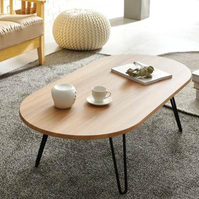 하우스틸 철제 원형 거실 테이블 1200