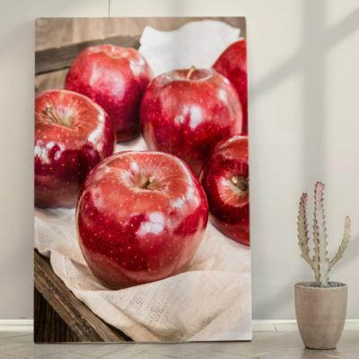 ie837-폼아크릴액자38CmX58Cm_빛이나는붉은사과