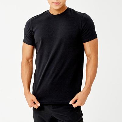 [세컨투넌] 머슬핏 라운드 티셔츠