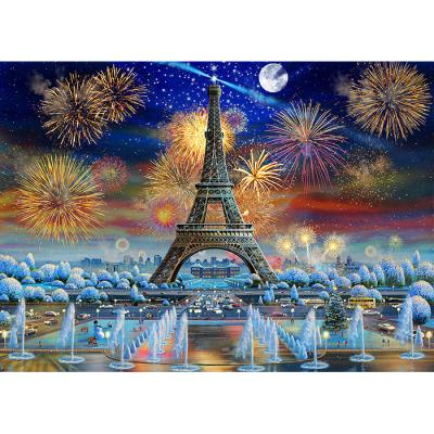 1000피스 직소퍼즐 - 에펠탑 불꽃축제