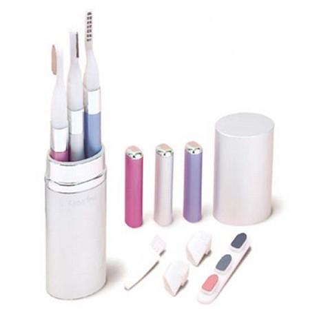 세이코 여성용 Beauty Care 3종세트 BC300 눈썹정리기+눈썹고데기+손톱정리기