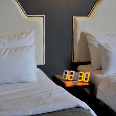 [무아스] LED벽시계 듀얼 빅사이즈