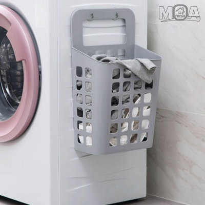 모던 흡착식 빨래바구니 세탁바구니 세탁수거함