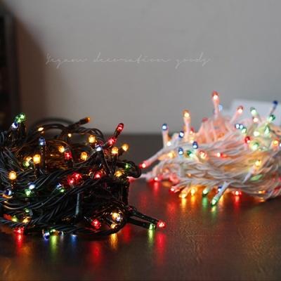[2HOT] 크리스마스 트리용 전구 (칼라) 60구