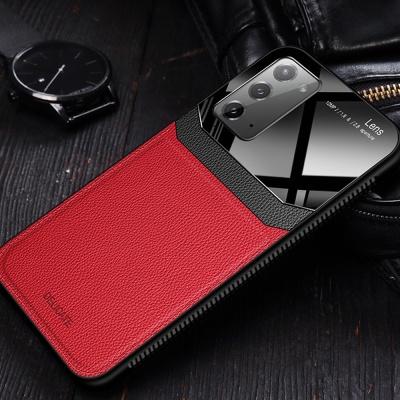 갤럭시노트20 울트라 가죽 스킨 범퍼 휴대폰 케이스