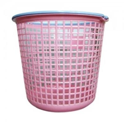 제일 원형 손잡이 세탁바구니 (대) 색상 랜덤발송