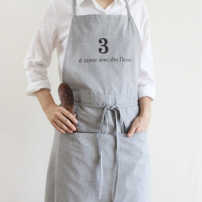 [콩지] No3 앞치마 (목걸이형)