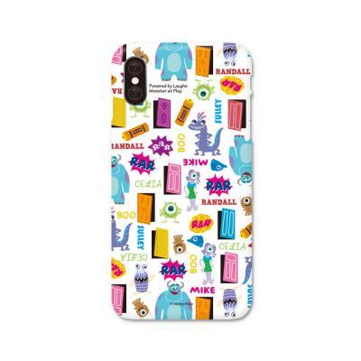 몬스터주식회사 패턴 스마트폰 하드케이스 화이트