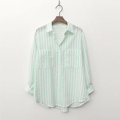 Bio Linen Stripe Shirts