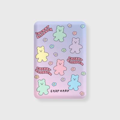 Blossom bear friends(무선충전보조배터리)