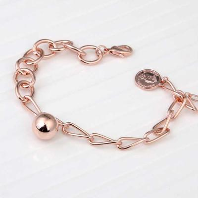 Mujer daily 비비안 bracelet 14KGP rose gold