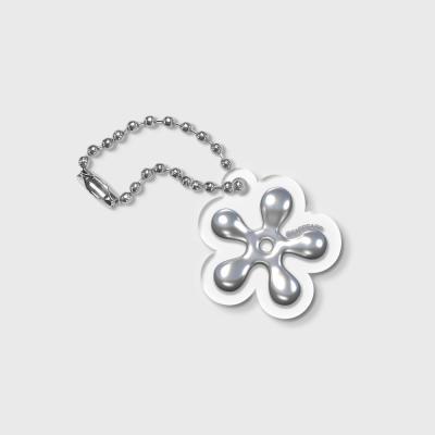 STEEL FLOWER-GREY(키링)