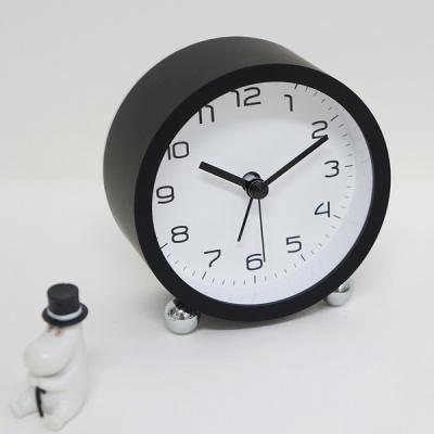 롤리미니무소음알람탁상시계(2COLOR)