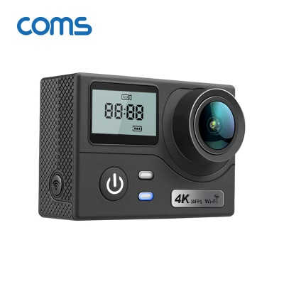 Coms AU181 4K 해상도 지원 액션캠