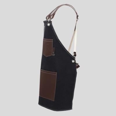 빨간머리앤 가죽스트랩 앞치마 블랙 AHAR 11-12-BK