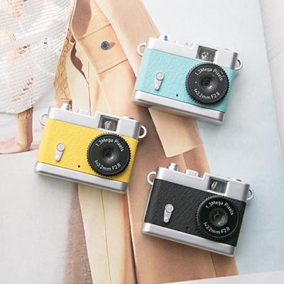 레트로감성 디지털 토이 카메라 Pieni_옐로우