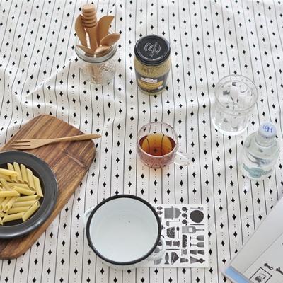마메종 코튼식탁보(스트라이프 2인~10인용)