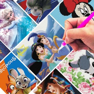 DIY 디즈니 보석십자수 40x50 토이스토리 프린세스