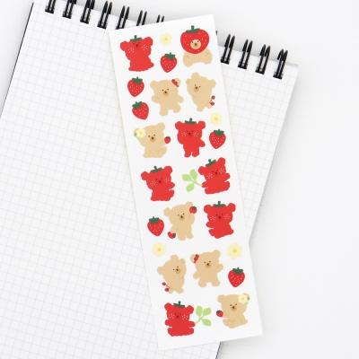 [에뚜알의 세삐공방]베비뚜 딸기 씰스티커