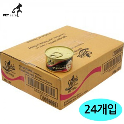 쉬바 디럭스 (참치와 치어) (24개세트) (1박스)