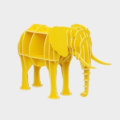 DIY 코끼리 동물조형 선반 책장 책진열장