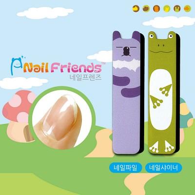 네일파일 and 샤이너 (Mini Friends-코리 and 개리)