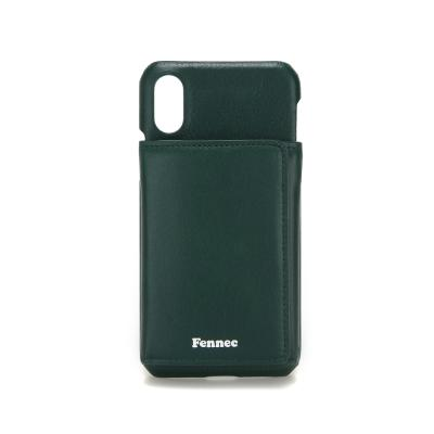 FENNEC iPHONE X/XS TRIPLE POCKET CASE - MOSS GREEN