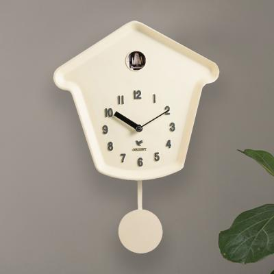 오리엔트 OT690M 화이트 쿠쿠뻐꾸기 추벽시계